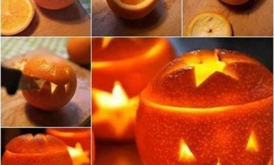 töklámpás narancsból