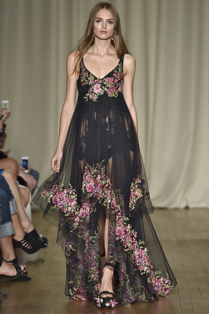 Marchesa London Fashion Week  Spring Summer 15 London September 2014